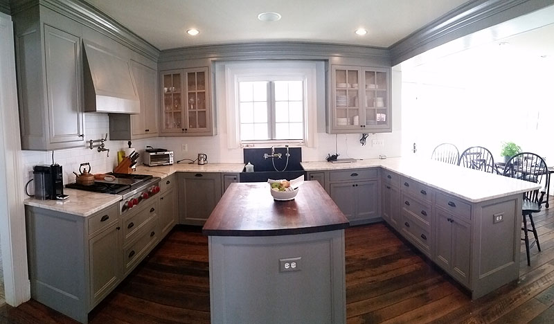Country Kitchen - Lincoln Woodworking